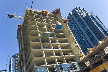 Vancouver Condo Under Construction